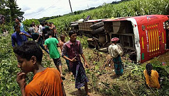 15 injured in road accident in...