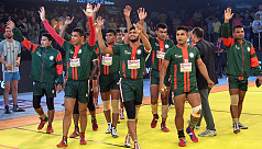 Men's kabaddi team back to winning...