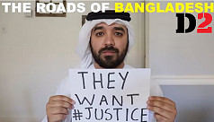 Another supporter for Bangladesh protest,...