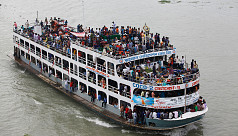 Eid holidaymakers travel with risk on Dhaka-Barisal river route