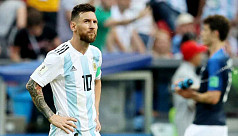 Argentina again leave out Messi for...
