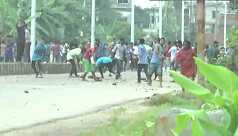 Bus runs over student in Rangpur, protests...