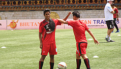 Bangladesh battle India in Saff U-15...