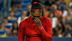 Serena beaten by Kvitova in second round...