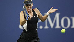Sharapova edges past spirited Schnyder...