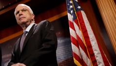 John McCain, unbridled titan of American...