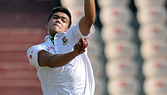 Taskin takes four as BCB XI trail by...