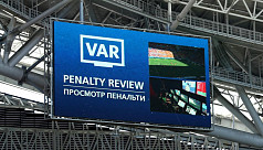 VAR in Champions League only from 2019-20...