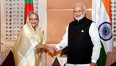 Hasina, Modi agree to work together...