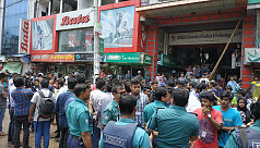 Students continue protest in Dhaka