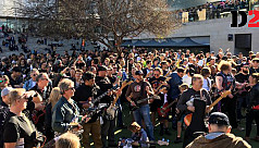 400+ guitarists attempt world record...