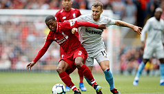 Wijnaldum happy to play in deeper role...