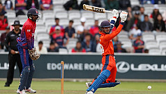 Nepal edge Netherlands by one run for...