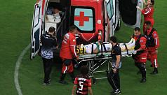Help! Players rescue ambulance in Brazilian...
