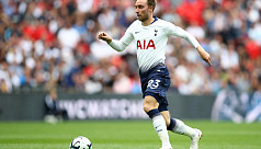 Eriksen in fitness race to face...