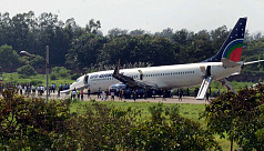 Watch: US-Bangla plane makes emergency...