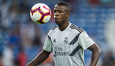 Vinicius called into Real squad