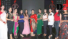 Ten finalists vying for Miss World Bangladesh...