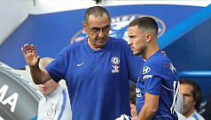Hazard enjoying life under Sarri