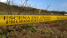 Mass grave site with 166 bodies found...