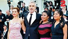 Cuaron wins top prize at Venice film festival