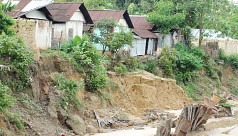 Sand mining destroys over 50 houses...
