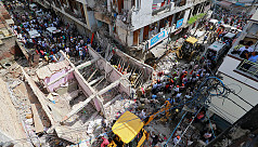 India building collapse kills five