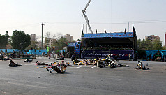 24 killed, 53 wounded in Iran parade...