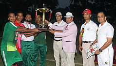 Bangladesh Army wins inter-service football...