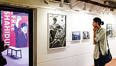 Shahidul Alam's photography exhibition...