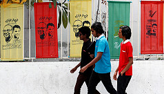 Tropical Maldives heads to polls amid...