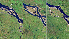 Nasa report: Over 66,000 hectares lost...
