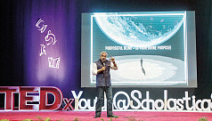 TEDxYouth program held at...