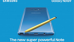 Samsung Galaxy Note 9 now in