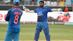 Shahzad's hundred lifts Afghanistan...