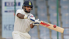 Dhawan left out of India's Test...