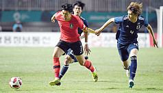 Son wins Asian gold, avoids military...