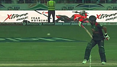 Twitter salutes Tamim as he bats one-handed...