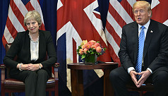 Trump, May discuss desire for ambitious...