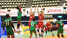Bangladesh through to next round as Group B winner by beating Mongolia in the AVC Cup