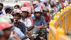 Is the high number of motorcycles a...