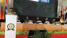 Bangladesh Army chief attends Bimstec seminar in India
