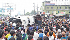 Rangpur bus collision kills 2, injures...