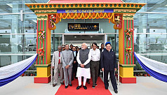 Modi inaugurates Sikkim's first...