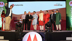 Motorola launches new mobile sets exclusively...