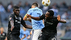 Villa's late goal helps NYCFC draw DC...