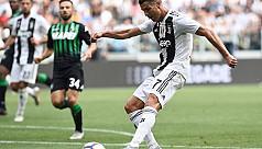 Ronaldo off the mark with a brace