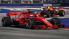 Raikkonen edges Hamilton after Vettel...