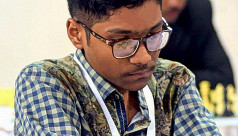 Fahad joint top at Int'l GM Chess
