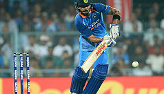 Kohli, Rohit tons flatten Windies